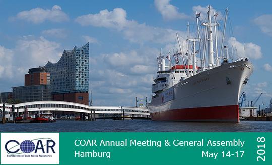 COAR Annual Meeting & General Assembly, Hamburg May 14-17, 2018